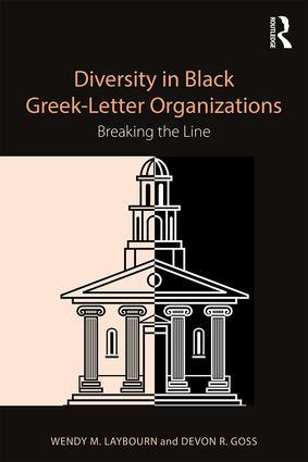 Diversity in Black Greek Letter Organizations cover